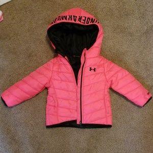 Baby girl Under Armour coat